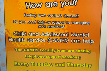 CAMHS telephone support